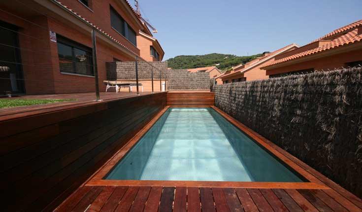 Piscinas de acero inoxidable recoder piscines maresme for Piscina acero