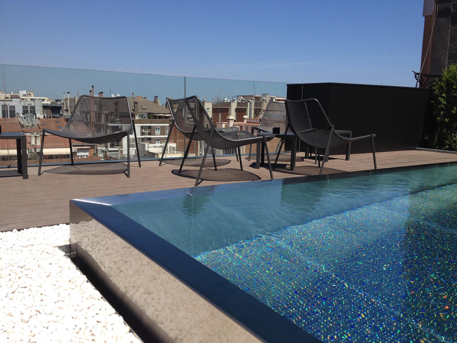 piscinas para aticos ideas de disenos