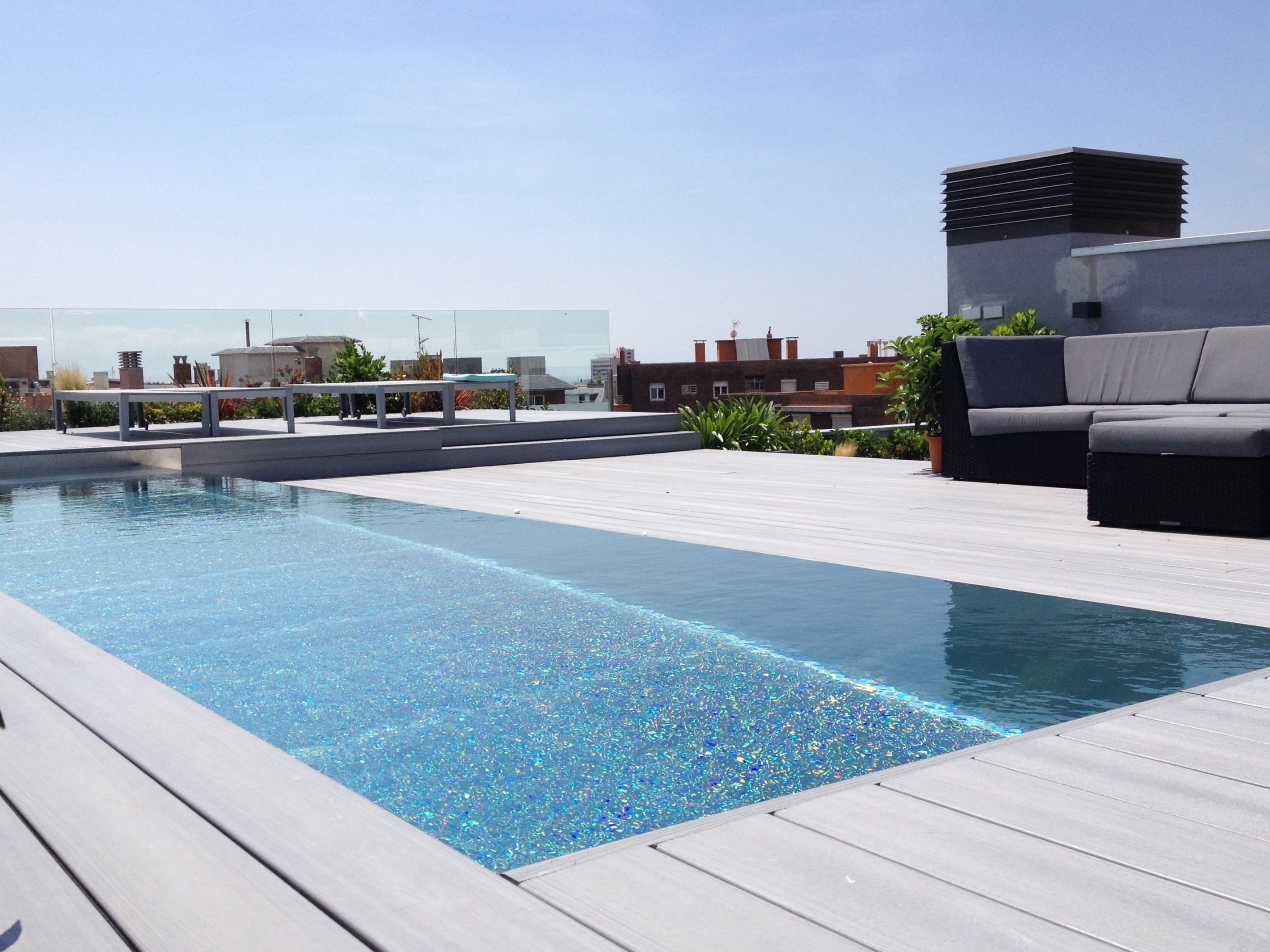 Piscinas para aticos elegant piscinas para aticos with - Piscina terraza atico ...