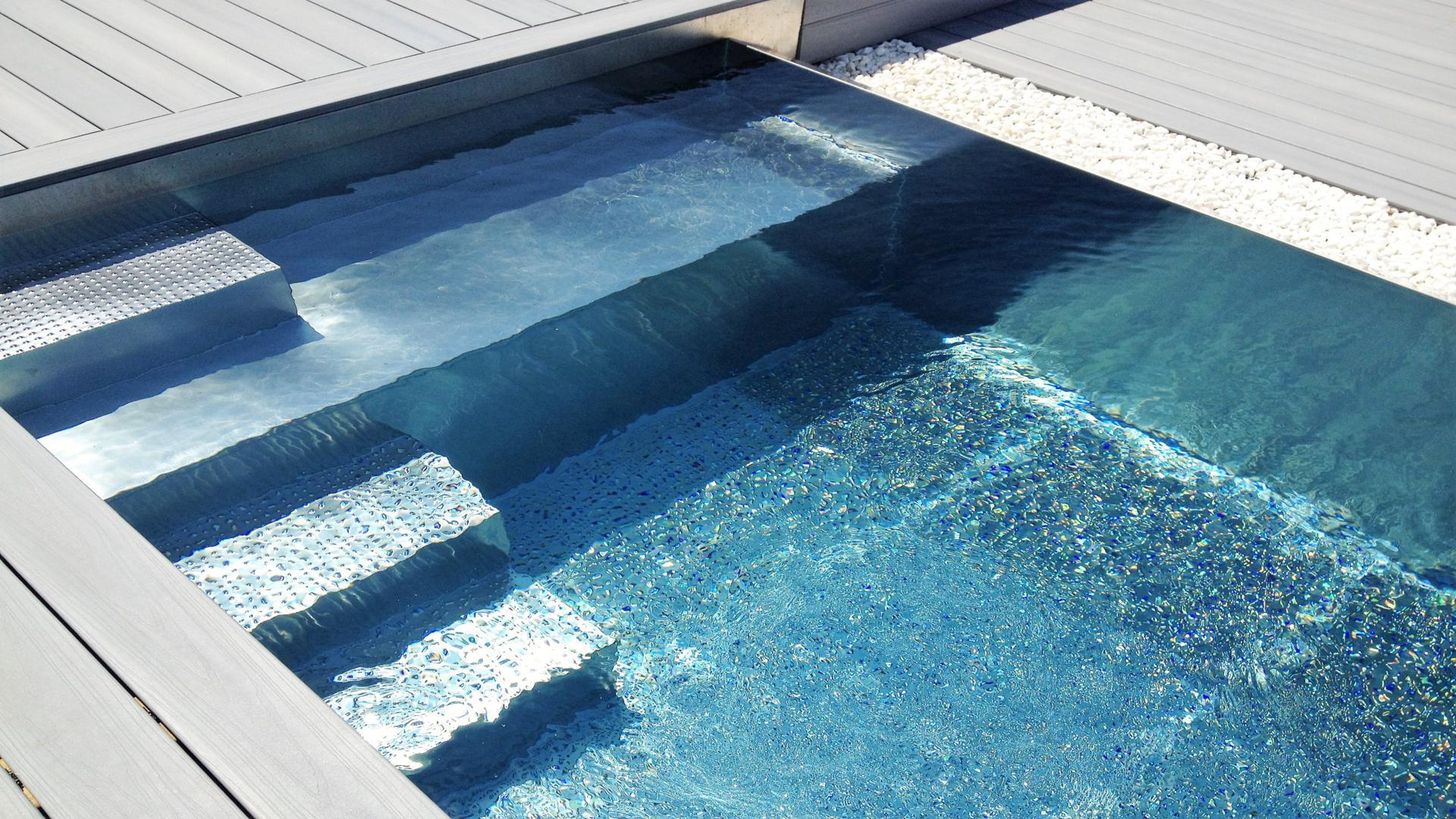 piscinas de acero inoxidable | recoder piscines maresme