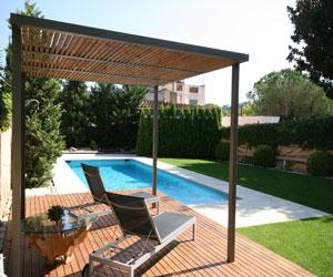 Piscinas pergola materiales de construcci n para la for Materiales de construccion piscinas